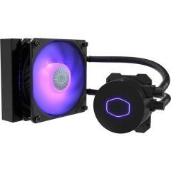 CoolerMaster MLW-D12M-A18PC-R2 MasterLiquid ML120L V2 RGB Liquid CPU Cooler 1x 120mm SickleFlow RGB PWM Fan Intel/AMD