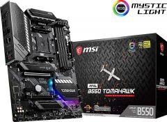 MSI MAG B550 TOMAHAWK ATX Motherboard Socket AM4Ryzen 3rd Gen DDR4 4866 (Max 128GB) 2x M.2 Slots USB 3.2 Gen 2 2.5G Ethernet