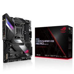 Asus ROG CROSSHAIR VIII HERO (WI-FI) X570 AMD ATX Gaming Motherboard with PCIe 4.0 on-board Wi-Fi 6 (802.11ax) 2.5Gbps LAN USB