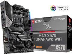 MSI MAG X570 TOMAHAWK WIFI ATX Motherboard Socket AM4 Ryzen 3rd Gen DDR4 4600 (Max 128GB) 2x M.2 Slots USB 3.2 Gen 2