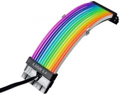 Lian Li ADDRESSABLE RGB STRIMER PLUS 24 PIN PowerSupply Extension Cable with RGB Controller PW24-V2