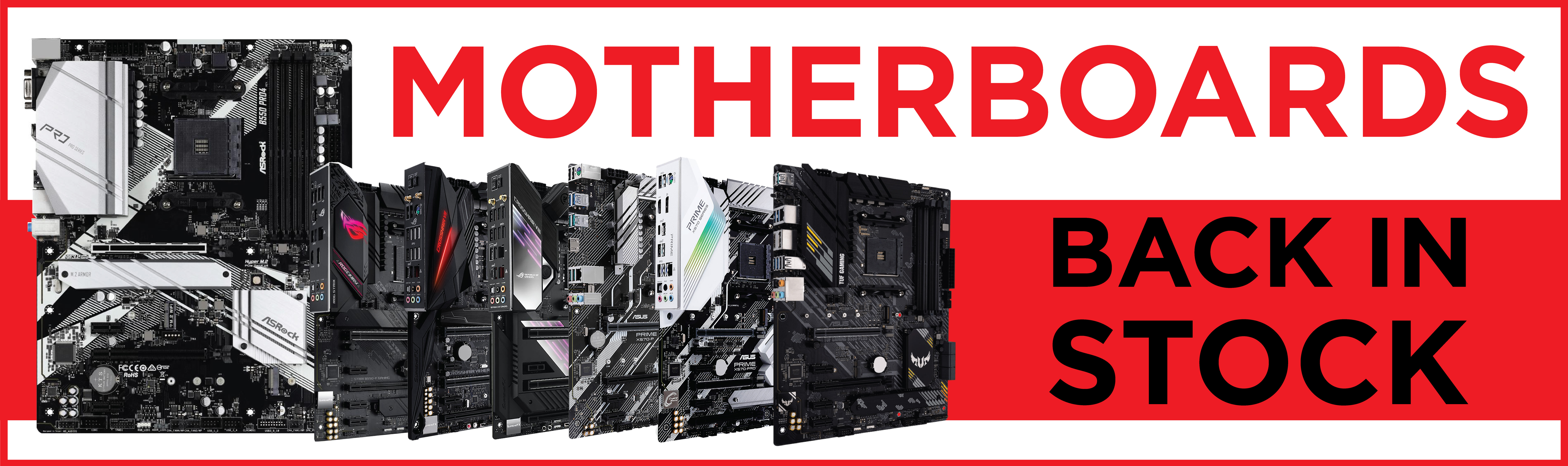 Motherboards have been restocked! Get it before they're gone.