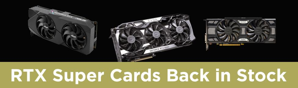 Restocked on the hottest videocards this year