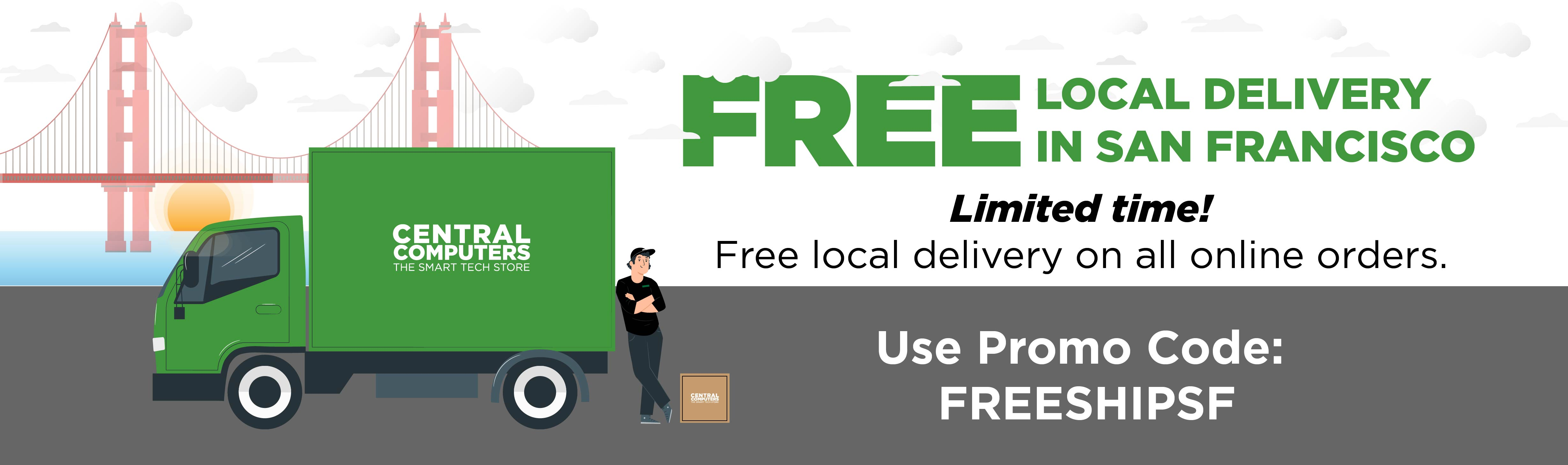 Free Local Delivery in San Francisco