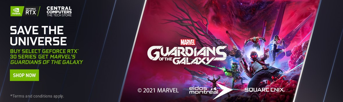 Nvidia RTX 30 Series Guardians of the Galaxy Game Bundle