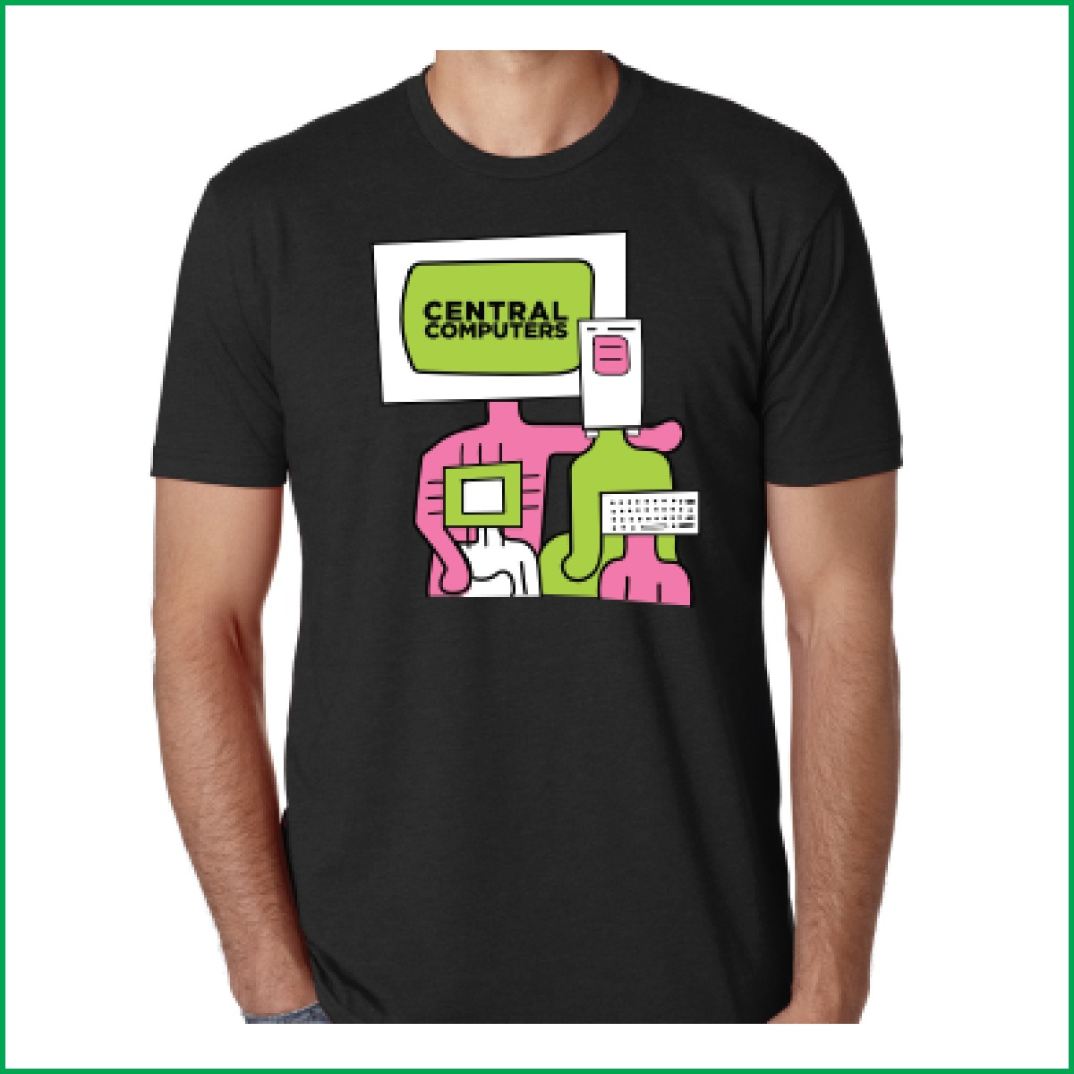Tech Heads Tshirt Central Computers