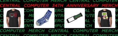Exclusive Central Computers Merchandise
