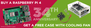 In-store Raspberry Pi 4 Bundle Promotion
