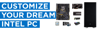 Build your Dream PC with Central Computers during Intel Gamer Days! Pick your parts, add the PC Build item to your cart, and check out!