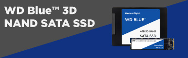 Banner image for WD Blue 3D NAND SSDs