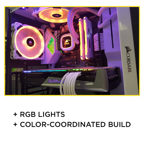Check out a full RGB and color-coordinated build
