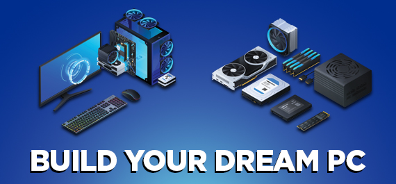 Build a custom gaming PC in stores or online today!